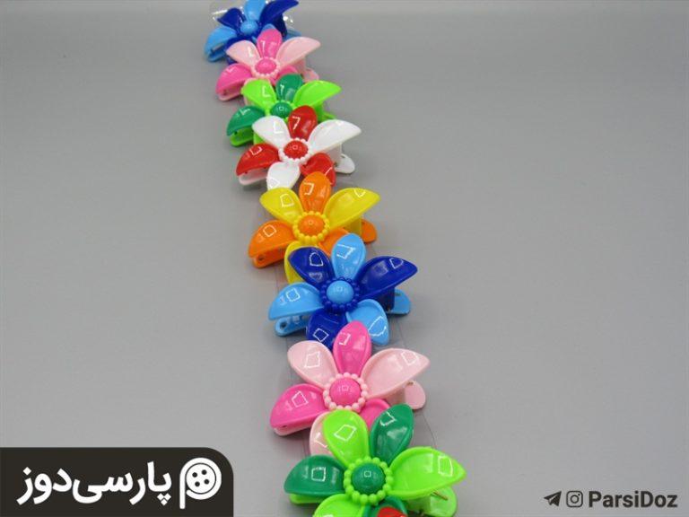 انبری گل دار(۱۰ عدد)