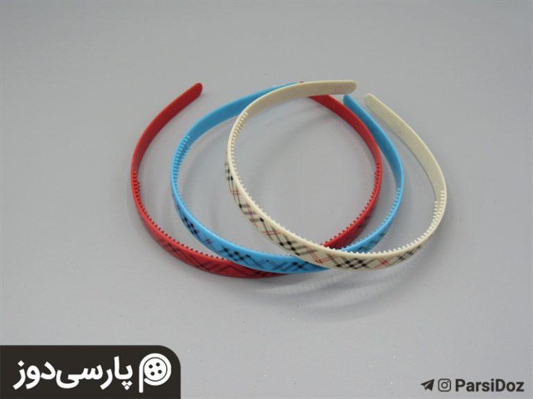 تل رنگی پلاستیکی(۱جین)