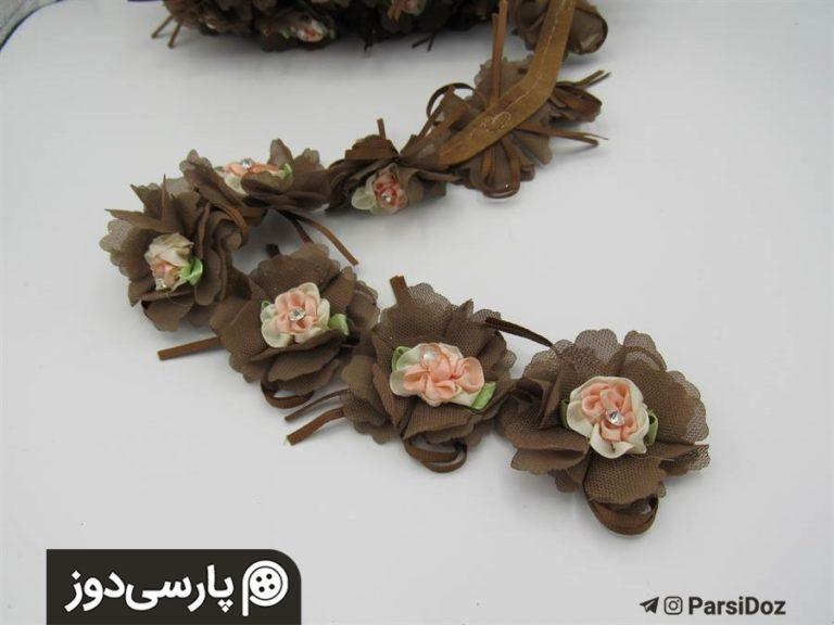 نوار گل دار شکوفه (متری)