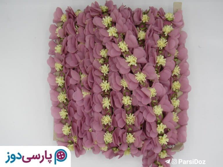نوار تزئینی گلدار